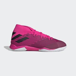 Calzado de Fútbol Nemeziz 19.3 Bajo Techo Shock Pink / Core Black / Shock Pink F34411