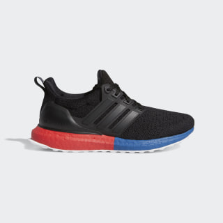 Ultraboost DNA Shoes Core Black / Core Black / Lush Red FX8770