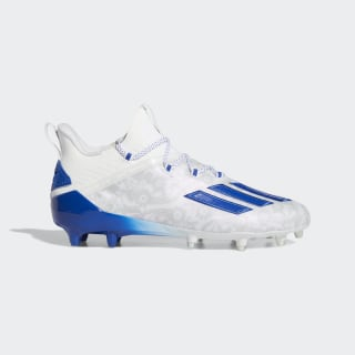Adizero New Reign Cleats Cloud White / Team Royal Blue / Cloud White FU6707