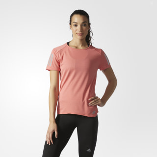 Playera Response Running Mujer CORE RED S98641