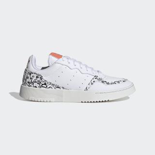 Supercourt Shoes Cloud White / Core Black / Semi Coral EH1019