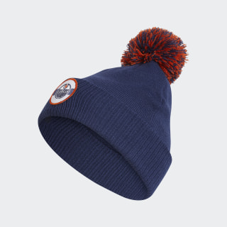 Bonnet Oilers Stadium Cuffed Pom Nhl-Eoi-504 / True Navy FN0515