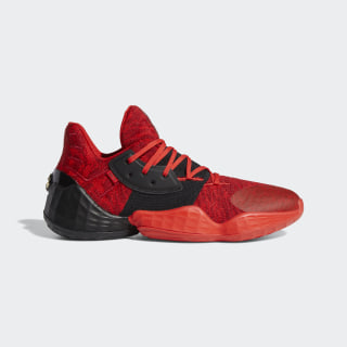 Harden Vol. 4 Shoes Red / Core Black / Power Red EF0999