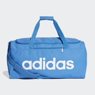 Bolso Deportivo Mediano Linear Core True Blue / True Blue / White DT8621