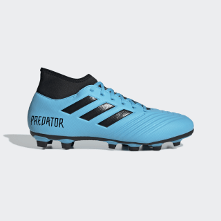 Zapatos de Fútbol Predator 19.4 S Multiterreno Bright Cyan / Core Black / Solar Yellow EF0383