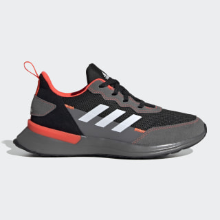 Sapatos RapidaRun Elite Core Black / Cloud White / Solar Red EG6911