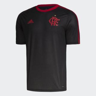 Camisa CR Flamengo 1 Fan Black / Scarlet DW3919