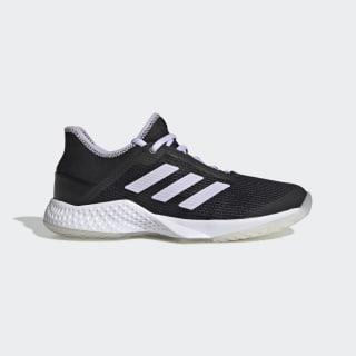 Adizero Club Schuh Core Black / Purple Tint / Cloud White EF2775