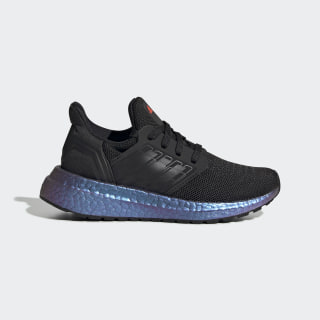 Кроссовки Ultraboost 20 Core Black / Core Black / Boost Blue Violet Met. EG4808