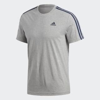 Essentials 3-Stripes Tişört Medium Grey Heather S98722