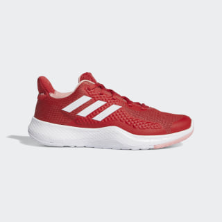 Tênis FitBounce Glory Red / Cloud White / Glory Pink EE4616