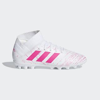 Bota de fútbol Nemeziz 18.3 césped artificial Ftwr White / Shock Pink / Shock Pink G26976