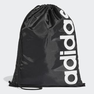 Taška Linear Core Gym Black / Black / White DT5714