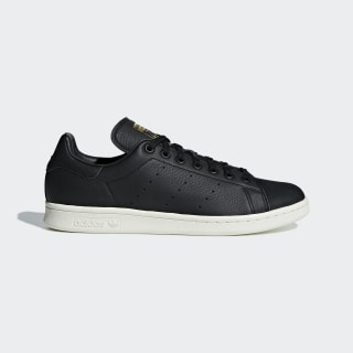 Stan Smith Premium Shoes Core Black / Core Black / Gold Metallic B37901