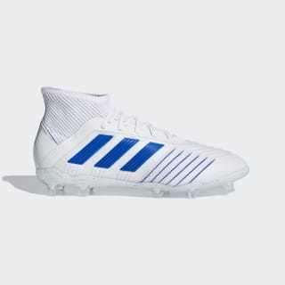 Футбольные бутсы Predator 19.1 FG ftwr white / bold blue / ftwr white CM8532