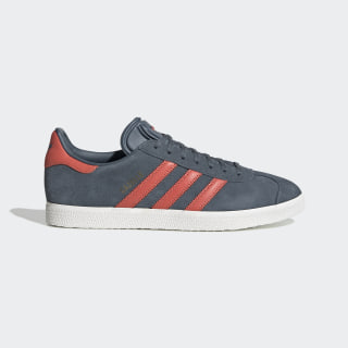 Chaussure Gazelle Legacy Blue / Trace Scarlet / Crystal White EF5565