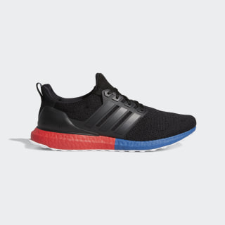 Ultraboost DNA Shoes Core Black / Core Black / Lush Red FX7236