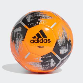 Pallone Team Capitano Solar Orange / Black / Silver Met. DY2507