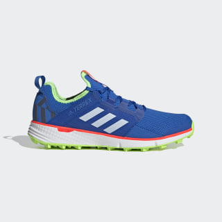 Zapatilla Terrex Speed LD Trail Running Glory Blue / Cloud White / Signal Green EF2123