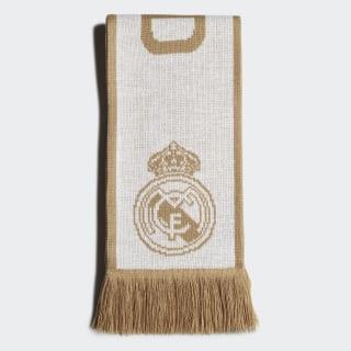 Écharpe Real Madrid White / Dark Football Gold DY7706