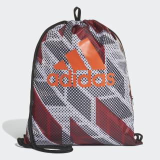 Sacola Gym Sack black/white/active orange DZ8247