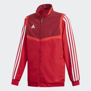 Tiro 19 Presentation Jacket Power Red / White D95931