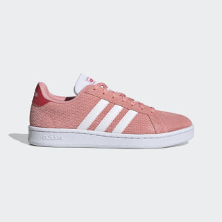 Grand Court Shoes Glory Pink / Cloud White / Glory Red EG4226