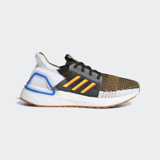 Tenis Ultraboost 19 Core Black / Active Gold / Scarlet EF0934