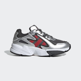 Yung-96 Chasm Shoes Grey Four / Scarlet / Silver Met. EE9299