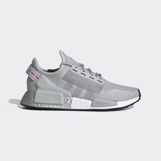 NMD_R1 V2 Shoes Grey Two / Grey Two / Silver Metallic FW8049