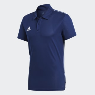 Core 18 Climalite Polo Shirt Dark Blue / White CV3589