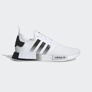 NMD_R1 Shoes Cloud White / Core Black / Cloud White EG7410