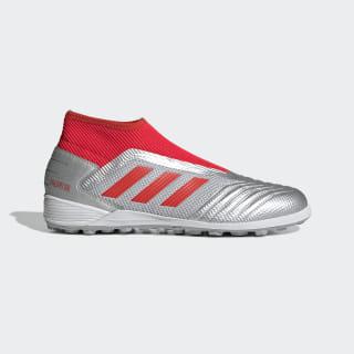 Calzado de Fútbol Predator 19.3 Césped Artificial silver met. / hi-res red s18 / core black G27941