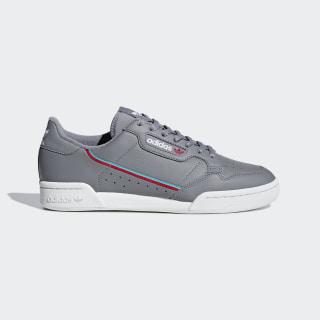 Tenis Continental 80 Grey Three / Hi-Res Aqua / Scarlet B41671