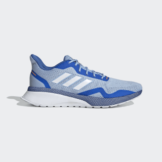 Nova Run X Shoes Blue / Cloud White / Glow Blue EE9926