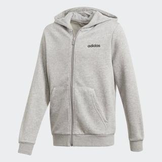 Casaca con Capucha Essentials Linear Medium Grey Heather / Black DV1819