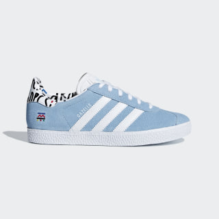 Tenis GAZELLE J CLEAR BLUE/FTWR WHITE/CLEAR BLUE B37213
