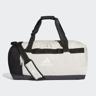 Convertible Training Duffel Bag Medium Raw White / Black / White DT4815
