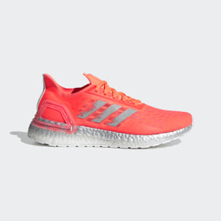 Ultraboost PB Shoes Signal Coral / Silver Metallic / Cloud White EF0889