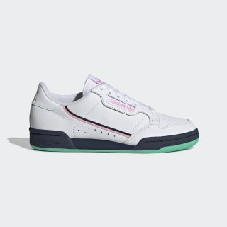 Continental 80 Shoes Cloud White / True Pink / Collegiate Navy G27724
