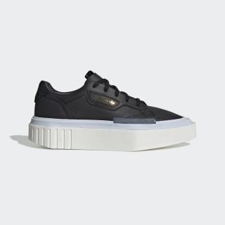 adidas Hypersleek Schuh Core Black / Core Black / Aero Blue EE8275