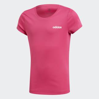 Camiseta Linear Logo real magenta / white DV2773