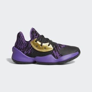 Harden Vol. 4 Star Wars Lightsaber Purple Shoes Core Black / Silver Metallic / Active Purple EH2463