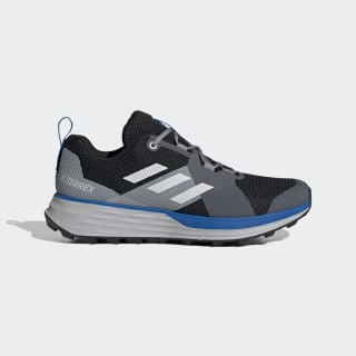 Chaussure de trail running Terrex Two Core Black / Grey One / Glory Blue EH1837