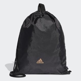 Mochila saco Predator Gym Black / Solar Red / Copper Metalic FI9342