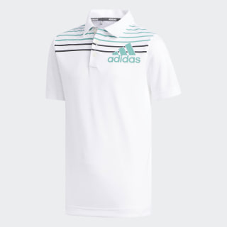 Badge of Sport Polo Shirt White / Grey DQ2084