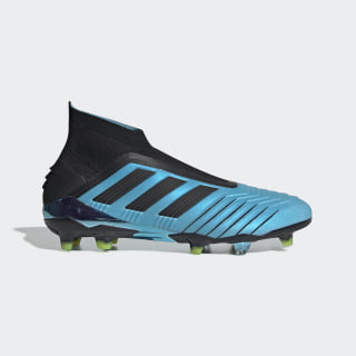 Predator 19+ Firm Ground Boots Bright Cyan / Core Black / Solar Yellow F35613