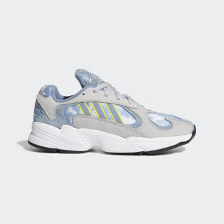 Chaussure Yung-1 Grey Two / Raw Grey / Shock Yellow EF2778