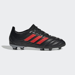 Copa 19.1 Firm Ground Boots Core Black / Hi-Res Red / Silver Met. F35453