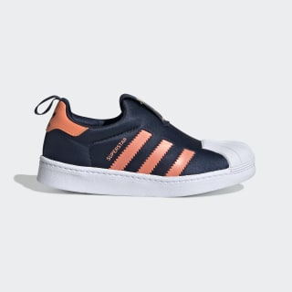 Superstar 360 Shoes Collegiate Navy / Semi Coral / Semi Coral EE6262